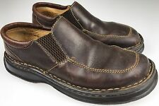 Born Womens 8/39 M/W Slip On Shoes  Brown Leather Comfort Loafers B-6452