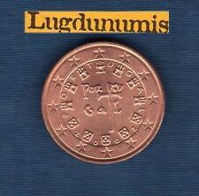 Portugal - 2002 - 5 centimes d'euro - Pièce neuve de rouleau -