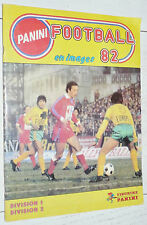 ALBUM PANINI FOOTBALL 82 CHAMPIONNAT FRANCE 1981-1982 INCOMPLET MANQUE 18