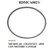 CINGHIA ALTERNATORE MICROCAR - CHATENET - JDM SIMPA  CON MOTORE YANMAR RDMCA002Y