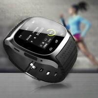 Waterproof Bluetooth Smart Watch Wrist Phone Mate For Andriod Samsung iPhone IOS