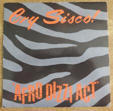 "Cry Sisco!, Afro Dizzi Act 7"", Escape Records"