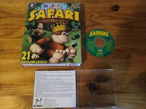 SAFARI KONGO - 2000 FAMILY KIDS ADVENTURE PC GAME - ORIGINAL BIG BOX EDITION