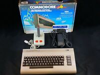 Commodore 64 Computer - Cleaned & Tested w/ New PSU Power Supply, Joystick, Box