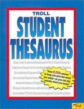 Student Thesaurus by Elizabeth A. Ryan (1997, Paperback)