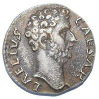 RARE AR DENARIUS AELIUS AS CAESAR ROMAN EMPIRE 137 AD SILVER COIN NOVELTY STRIKE