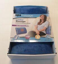 Spa Massage Relaxation Therapy Lumbar Vibrating Massager Blue