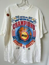 New listing Vintage Starter Houston Rockets 1994 NBA World Champions Shirt Size L