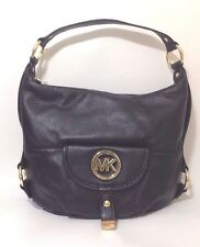 Michael Kors Black Leather Fulton Shoulder Bag RRP £300