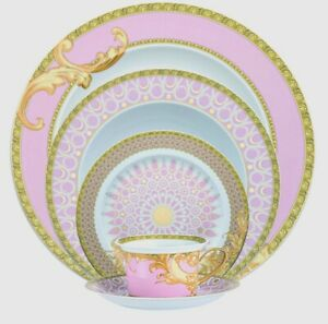 Byzantine Dreams by Rosenthal - Versace 5 piece Place Setting, fine China, NEW