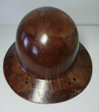 Vintage MSA Skullgard Full Brim Hard Hat - Fiberglass - Original Liner
