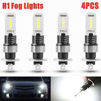 4PCS Xenon 6000K Super White LED Fog Driving  Brake Lights Kit Turn Signal Bulbs