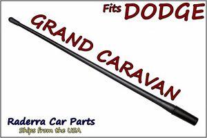"FITS: 2008-2020 Dodge Grand Caravan - 13"" SHORT Flexible Rubber Antenna Mast"