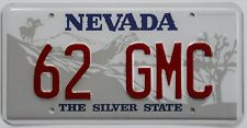 62 GMC Novelty License Plate for your 1962 truck