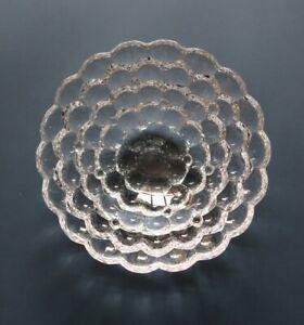 **19cm Wide Orrefors Anne Nilsson Crystal Berry Bowl Scandinavian Design