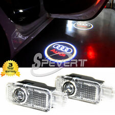 Car Door Shadow Projector Courtesy Laser LED Logo Light F Audi A4 A5 A6 A8 Q5 Q7