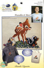 Cross Stitch Kit ~ Thomas Kinkade / Disney Bambi Wearable Waste Canvas #53529