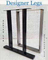 "2x Table / Bench legs Designer Metal Steel Industrial ""The Epping Leg""  Urban UK"