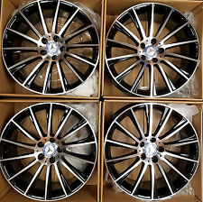 20 NEW S63 S65 CL63 SL63 S550 E400 OEM 2017 MERCEDES AMG FORGED WHEELS SET 4 NEW