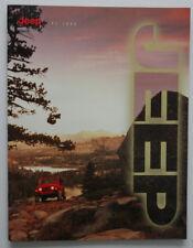 JEEP TJ 1998 dealer brochure - English - Canada ST1002000218