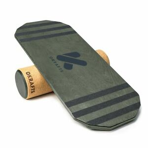 Grey Balance Board, Roller & Board, Yoga Balance Board, Sports, Balancer, Yoga
