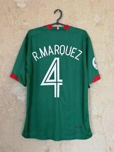 Mexico 2006 - 2007 home football shirt jersey Nike #4 R. MARQUEZ size L - XL