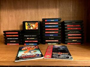 SEGA Genesis Carts (only) +32X Untested, Preowned, Clean BUNDLE and SAVE
