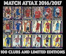 MATCH ATTAX 2016/17 2016 2017 16/17 HUNDRED 100 CLUB 100 CLUB LEGENDS