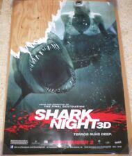 SHARK NIGHT 3D MOVIE POSTER 1 Sided ORIGINAL B 27x40