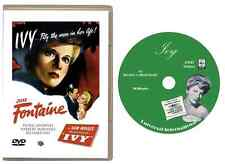 Ivy (1947) DVD 720p - Joan Fontaine Patric Knowles Herbert Marshall-USA Shipping