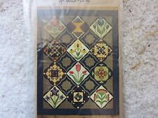 Joined At The Hip FLOWER PATCH 1-13 COMPLETE Block Of The Month Patterns New