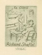 Ex libris Exlibris by Bötel-Celle Fritz (1896-1984) Germany