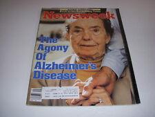 Newsweek Magazine, December 3, 1984, Alzheimer's Disease, Muammar Kaddafi!