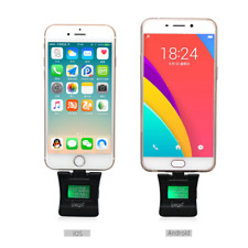 Alcohol Phone Tester LCD Digital Breathalyzer Alcotester For iPhone Android Cell