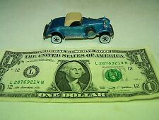 Hot Wheels - Vintage Blue Metalflake Rolls Royce - White Walls - 1982