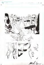 Marlin Shoop Original Art Dark Horse Comics LARP! Last Star Wars ~ STORMTROOPERS