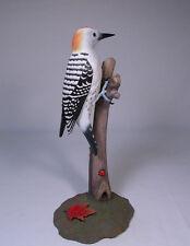 Golden-fronted Woodpecker Bird Wood Carvings/Birdhug