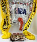 Vintage Miller Genuine Draft - NBA Inflatable Basketball Goal W/  Return & Balls