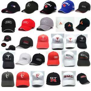 Mens-Womens-Baseball-Hat-Outdoor-Travel-Cap-Car-Cap-For-Mer-Cedes-Benz-Audi-Bmw
