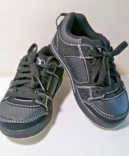 New Baby Boy OP NATHAN Black Skateboarding Shoes Size 10(US)