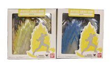 Bandai Tamashi Nations Effect Energy Aura Lot Blue And Yellow Dragon Ball Z Used