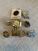 US Military And Aviation Pins Lot Of 9