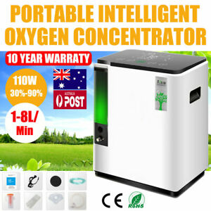 1-8L/min Home Health Care 93% O2-Oxygen Generator Concentrator Machine 110V/220V