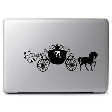 Cinderella Carriage Disney for Macbook Laptop Car Window Wall Art Decal Sticker