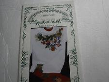 Christmas Balls & Holly Ornament Easy Iron On Painting Pattern Stars Glenda Betz