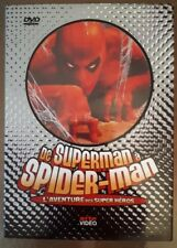 Superman a Spiderman DVD Arte Stan Lee Moebius Jack Kirby + Strange hors serie
