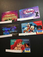 5 Expired Credit Cards For Collectors - Disney Lot 3 (3210)