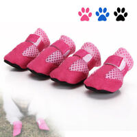 Chaussures anti-dérapantes unisexes chien imperméable chaussures pluie bottes ME