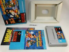 THE MAGICAL QUEST STARRING MICKEY MOUSE TOPOLINO SUPER NINTENDO SNES COMPLETO