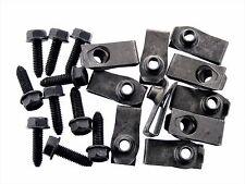 Mopar Flange Head Bolts & U-Nuts- M6-1.0mm Thread- 10mm Hex- Qty.10 ea.- #135